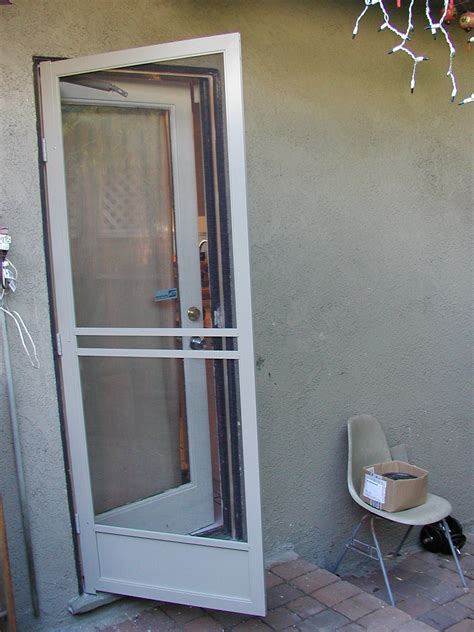 aluminum patio screen doors door screen services in los angeles ca northridge