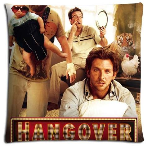 Poster The Hangover 40x60cm 18x18 inch 45x45 cm livingroom pillow protector polyester cotton soft generously the