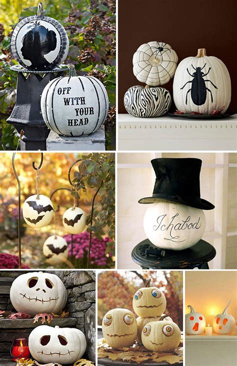 white pumpkin decorations decorated white pumpkins grcom info