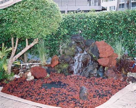 garden lava rock lava rock landscaping has both positive and negative
