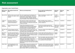 Work Health And Safety Policy Templates by 240214 Health And Safety Policy Risk Assessment