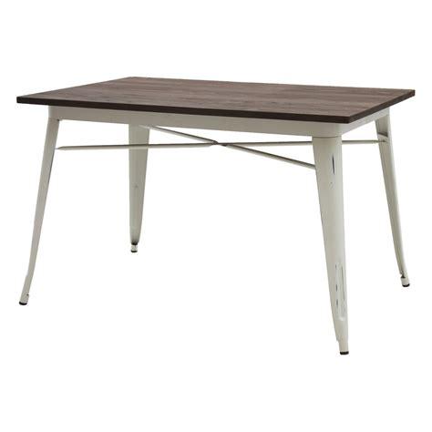 tavolo bianco anticato tavolo moderno rettangolare piano legno bianco anticato