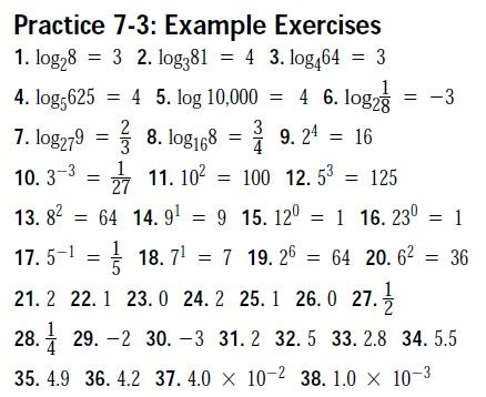 Solving Exponential And Logarithmic Equations Worksheet by Solving Exponential And Logarithmic Equations Worksheet