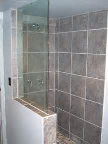 frameless glass shower build ideas general
