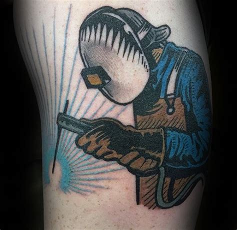 welding tattoos designs 80 welding tattoos for industrial ink design ideas