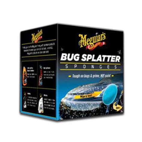 Meguiars Bug And Tar meguiars bug splatter sponges meguiars bug and tar remover bug sponge