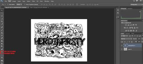 membuat nama menjadi nama korea cara mudah membuat doodle art nama di photoshop herdinprsty