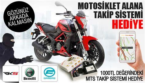 motosiklet alana motor takip sistemi hediye