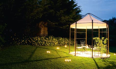 tent with lights built in gazebo with built in lights frassanelle by aldo bernardi