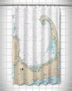nautical shower curtains ma cape cod ma nautical chart shower curtain