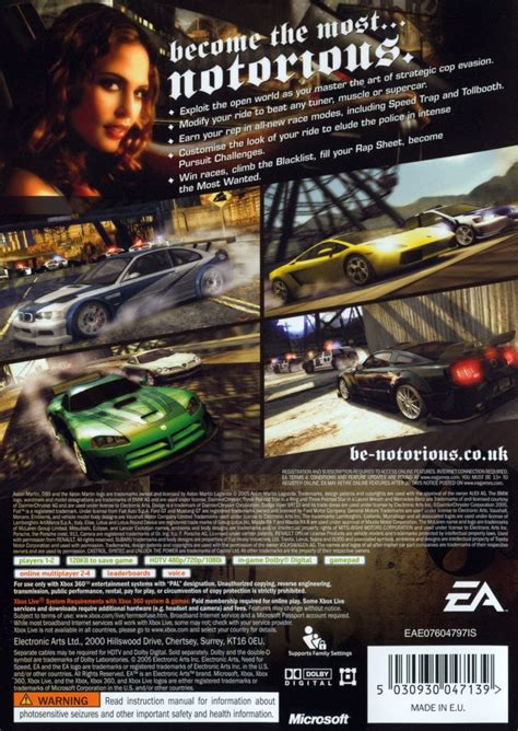 best need for speed xbox 360 need for speed most wanted 2005 xbox 360 box cover