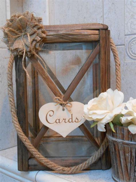 wedding card lantern wooden lantern wedding card holder rustic wedding lantern