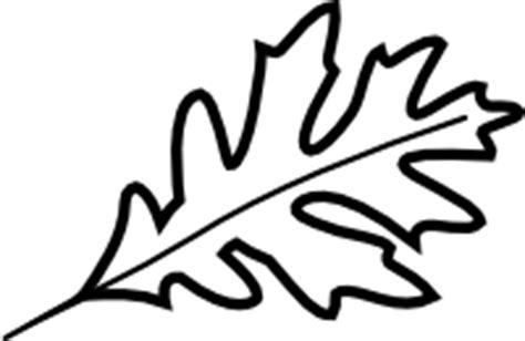 Image Oak Leaves Clip Art Black And White Download Black White Oak Leaf