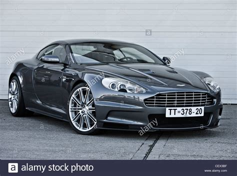 Bond Aston Martin Car by Stationary Aston Martin Bond Classic Car Stock