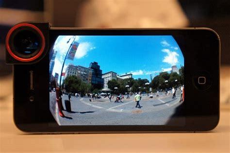 Lens Iphone 4 Dan 5 Stand Lensa Kamera Berdiri olloclip 3 in 1 fotografi macro wide dan fish eye untuk
