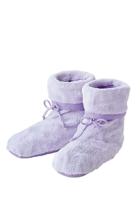 microwavable boot slippers plush snuggle boots microwavable slippers with soothing