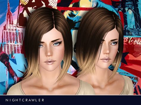 sims 3 resource hair nightcrawler sims nightcrawler afhair01