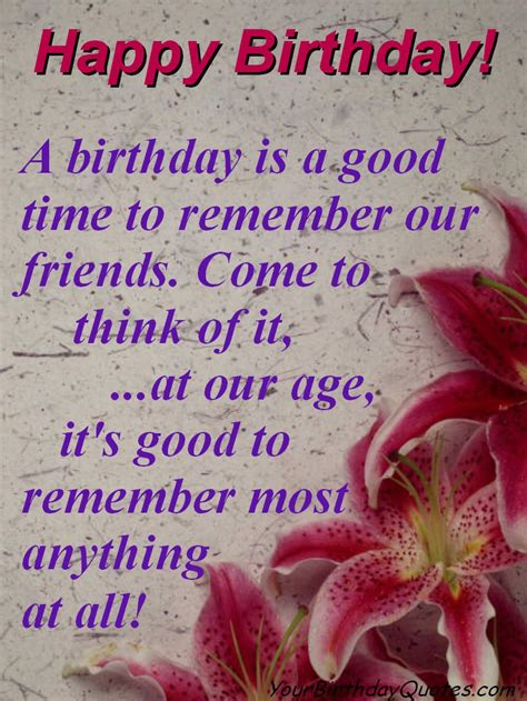 Birthday Quotes On Great Birthday Quotes Yourbirthdayquotes Com