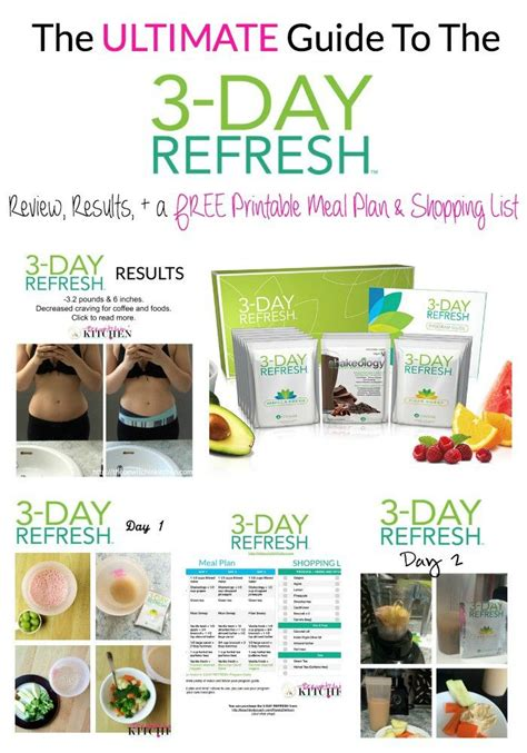 Ultimate Detox Beachbody by 7 Best Images About 3 Day Refresh On Shopping