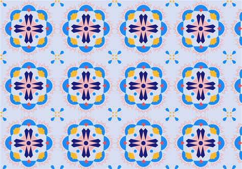 mosaic pattern vector floral mosaic pattern download free vector art stock