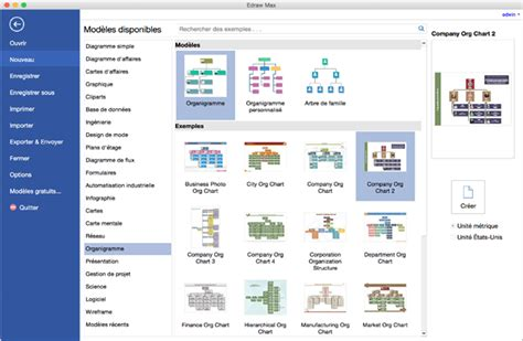 Modele Organigramme Pages Document Online Open Chart Template