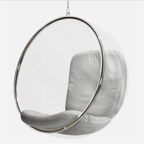fauteuil bubble fauteuil bulle suspensdu eero aarnio fauteuil design