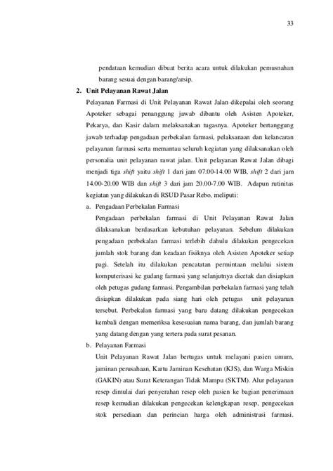 format berita acara pemusnahan obat kadaluarsa laporan pkpa di rsud pasar rebo jakarta timur