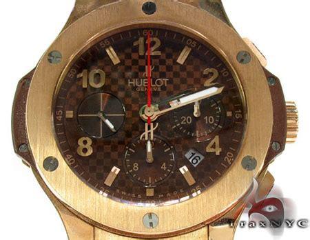 Hublot Hb024 Brown Ring Rosegold hublot big gold mens hublot watches