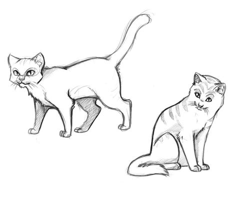 cat easy free printable cat coloring pages for