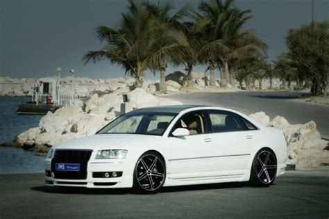 Audi A8 Tuning Teile by Frontlippe Jms Exclusiv Line Audi A8 4e Jms