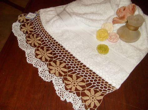 bicos de croch elo7 toalha de lavabo bico de croch 234 vov 243 francelina elo7
