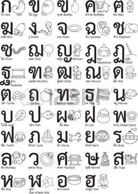 Thai Search 25 Best Ideas About Thai Alphabet On Learn Thai Language Learn Thai And
