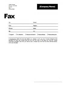 free fax template free fax cover sheet