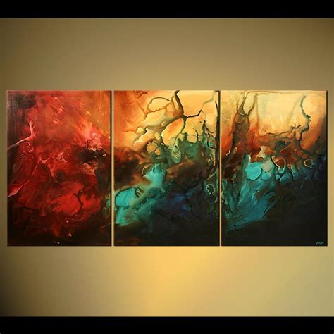 abstract painting large modern seascape painting