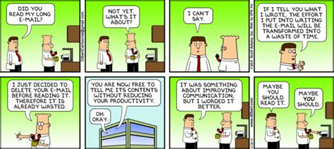 dilbert gets re accommodated books dilbert and email communication problems things