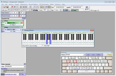 music keyboard tutorial software free download kb piano download