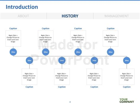 powerpoint template history vc template editable powerpoint template