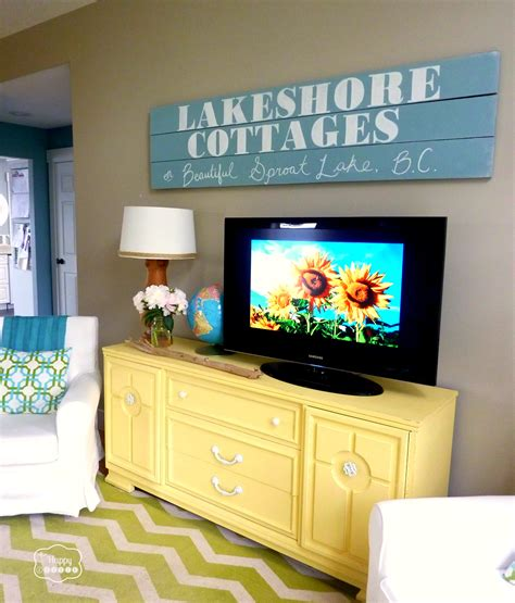 diy chalk paint on wood the quot i m so ready for summer home tour quot a few updates and