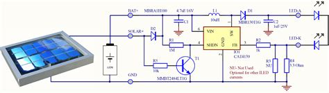12v led lights observations at solar light wiring diagram