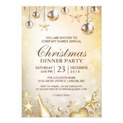 corporate holiday party invitations announcements zazzle