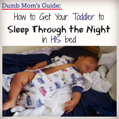 how to get in bed with your mom how to get your kid to sleep through the night dude mom
