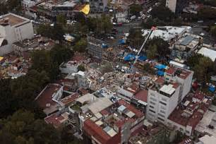 earthquake x and y mexico earthquake new magnitude 6 2 tremor shakes jittery