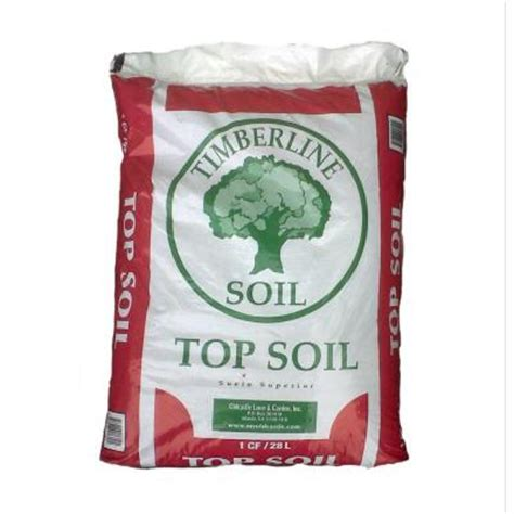 timberline 1 cu ft top soil 50051562 the home depot