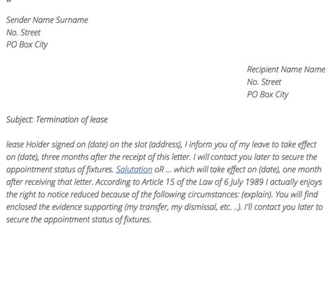 Cancellation Letter Apartment Termination Letter Apartment By Tenant Resumes Design