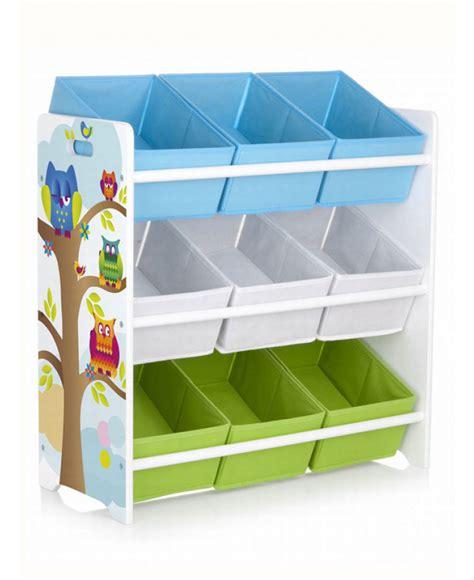 Bin Storage Unit by Owls 9 Bin Storage Unit