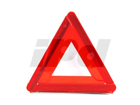 volvo reflective warning triangle