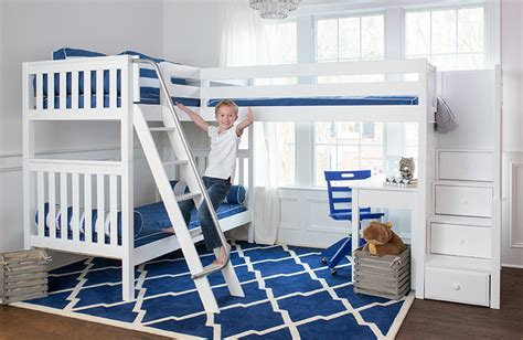 Boy Bunk Beds With Desk Best Mattresses For Bunk Beds And Loft Beds 5 Expert Tips Maxtrix