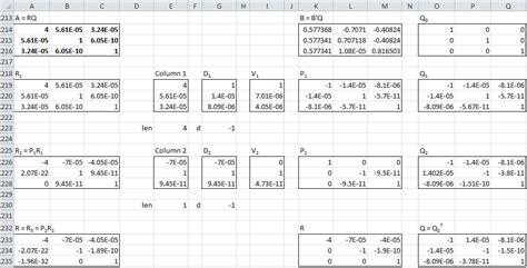 qr factorization exle bing images