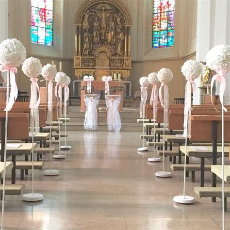 Kirchendeko Hochzeit Kaufen by Kirchendeko Hochzeit Mit St 228 Ndern Und Blumenkugel