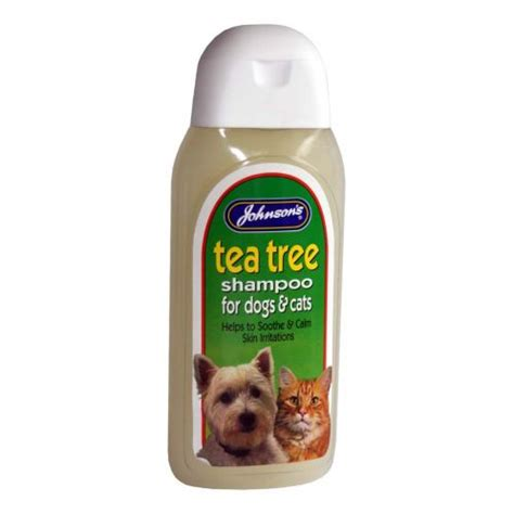 tea tree for dogs buy johnsons veterinary products cat tea tree shoo 400ml